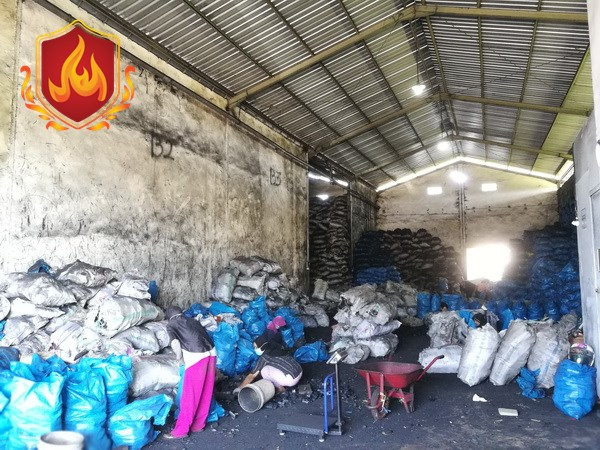 Our Warehosue, Best Indonesia Charcoal Manufacturer